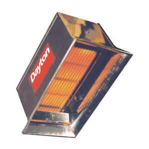 DAYTON 3E132 Gas Infrd Flat Panel Heater,NG,30000BtuH