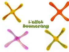 Reversible four-bladed boomerang (flight on 2 side) Indoor/Outdoor game