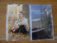 """Lot of 2 Tim Greene At The Cross """"Used"""" & In His Eyes """"Brand New In Shrink Wrap"""