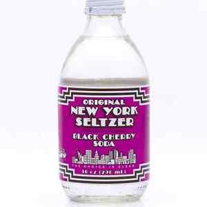 Original New York Seltzer is BACK - Black Cherry Soda 6pk - FREE SHIPPING