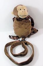 Eddie Bauer Monkey 2 in 1 Harness Buddy Brown Monkey Plush Back Pack