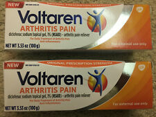 Lot Of 2 Topical Arthritis Pain Relief Gel - 3.53Ounce Tube Exp 02/2023