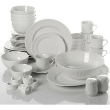 46 Piece Dinnerware and Serveware Set Home Furniture Plates Dishes Bowls