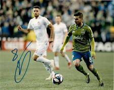 Seattle Sounders Víctor Rodríguez Autographed Signed 8x10 Mls Photo Coa #3