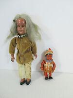 Dolls Activity Pad Village Native Americans Indian Souvenir Maiden Avon Vtg 4pcs