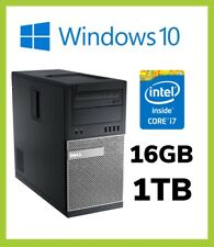 Dell Optiplex 7020 MT PC |  Quad i7 4th Gen 4790 3.60GHz | 16GB | 1TB