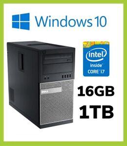 Dell Optiplex 7020 MT PC |  Quad i7 4th Gen 4790 3.60GHz | 16GB | 1TB