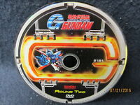 Mobile Fighter G Gundam Round 2 DVD Disc Only Fast Free Shipping two