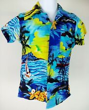 Polka Dots Boys Jamaican Shirt TSz18m Pre-Owned beach shirt #160