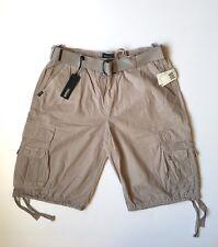 """NWT Buffalo By David Bitton """"HORACIO"""" Cargo Shorts Color Smoke Size 34 $69.00"""
