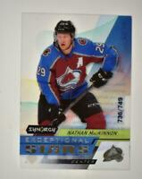 2020-21 UD Synergy Exceptional Stars #ES-36 Nathan MacKinnon /749
