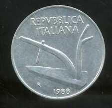 ITALIE  ITALY   10 lire 1988