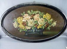 Originale künstlerische Malerei mit Blumen-, Frucht- & Pflanzen-Motiv