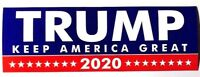 Donald Trump Bumper Sticker 2020 Keep America Great