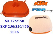 New Twin Air Airbox Cover & Air Filter KTM SX125/150 - SXF250/350/450 2016-2018