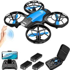 New Mini Drone No Camera WiFi Fpv Air Pressure Altitude Black Quadcopter RC Toy