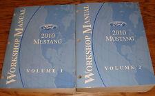 Original 2010 Ford Mustang Shop Service Manual Volume 1 & 2 Set 10