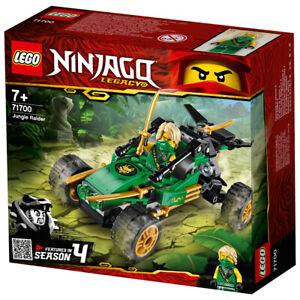 Lego Ninjago Legacy Jungle Raider Building Set 71700 Featured in Season 4 Age 7+