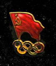 Melbourne 1956 Olympics RARE USSR SOVIET UNION  Russia NOC team delegation pin