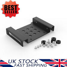 """Orico Aluminium 2.5/3.5 Inch Hard Drive HDD/SSD to PC 5.25"""" Bay Mounting Adapter"""