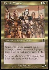 Mtg 4x Putrid Warrior-Apocalypse * Soldier zombi *
