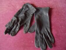 Bw Bundeswehr Lederhandschuhe Handschuhe,Grau Gr.8 ungefüttert