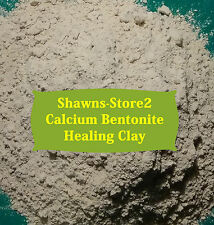 Bentonite/Montmorillonite Clay 20 lb Edible Calcium w/FREE Utensil