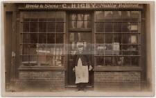 More details for rickmansworth rp - c higby, mill end - 1911 shopfront - boot repairer / cobbler