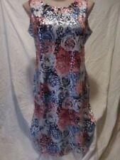 Polyester/Elastane Machine Washable Dresses for Women's Shift Dresses