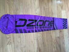 Large Purple Ozone Wind Sock for Paramotoring and Paragliding