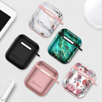 For AirPods Silicone Case + Keychain AirPod Protective Cover Skin Charging Case