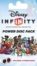 ! DISNEY INFINITY 1.0 POWER DISC PACK (SERIES TWO) - UNOPENED PACK - 2 DISCS