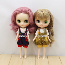 Takara Middle Blythe's Outfits from Factory yellow overalls sale new 2017 summer
