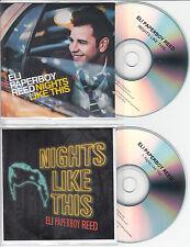 ELI PAPERBOY REED Nights Like This UK 11-trk promo test CD + bonus CD