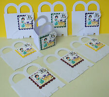 8 ALADDIN'S JASMINE Personalized  boxes birthday party favors goody bags
