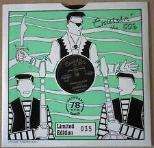 """Johnny Kidd & the Pirates Shakin' all over  78 RMP 10"""" record  Cruisin' the 50's"""