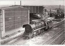 DR Foto BR 44 0618-7 Dampflok Lokschuppen mit Drehscheibe     ( 99715