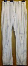 CHICAGO CUBS JEFF SAMARDZIJA 2011 WHITE PINSTRIPE MLB PANTS