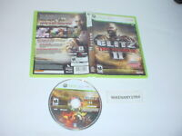 BLITZ: THE LEAGUE II football game disc only in case- Microsoft XBOX 360