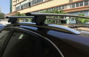 2x New cross bar roof racks for BMW X5 2010 -  2020 attach flush rails