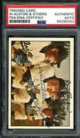 Walter Alston Joe Becker Billy Herman Signed PSA DNA Coa 1979 TCMA Autograph