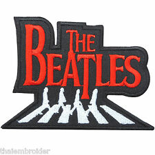 The Beatles Abbey Road Music Sew Embroidered Iron-On Patches Jacket Cap #S038