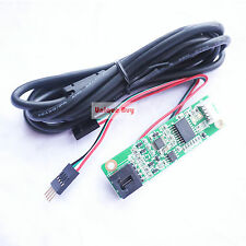 4 Wire USB Touch Controller Board Card Kit Driver Resistive LCD Screen Panel