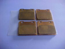Suzuki 86-87 GSXR750 Gold Sintered Front Brake Pads 2 Set S72 1986 1987 GSXR 750