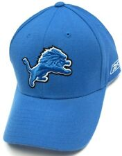 834ce37fafc Detroit Lions NFL Reebok Sideline Basic Solid Blue Coaches Hat Cap Fitted  Sizes