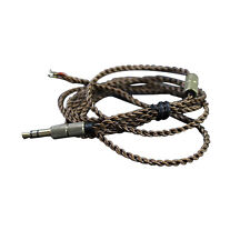 S Replacement DIY 4N OCC Cable Cord Line Lead for Audio Technica Koss Headphones