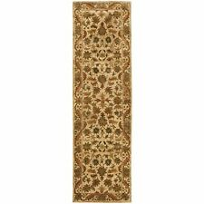 Hand-Tufted Antiquity GOLD Wool Rug 2' 3 x 12' Runner
