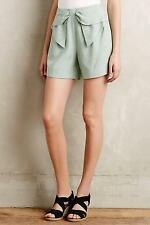 NIP Anthropologie Bowtie High-Rise Shorts Sz 8 Size New