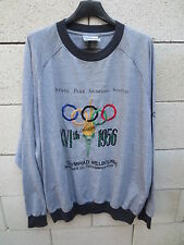 Sweat ADIDAS OLYMPIC COLLECTION vintage Jeux OLYMPIQUES Melbourne 1956 192 XXL