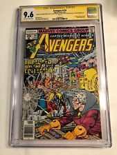 CGC 9.6 SS Avengers #174 signed by Perez, Marcos, Shooter & Wenzel not 9.8